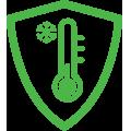 Icône temperature à del Bright Knights